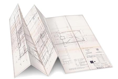 digitaliseren van bouwkundige tekeningen