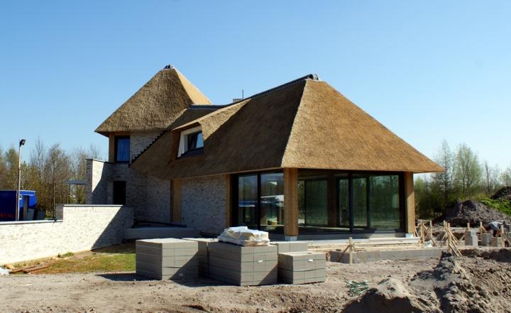 Westgevel villa Wittenoord